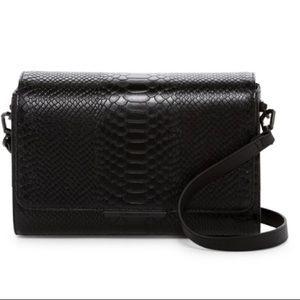 Kendall & Kylie– Bobino Snake Leather Shoulder Bag